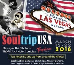 Soultripusa in Nevada, Las Vegas! 7 nights: Northern Soul, Motown Classics