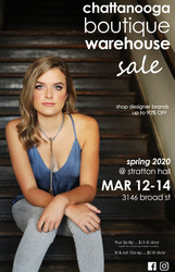 Spring 2020 Chattanooga Boutique Warehouse Sale