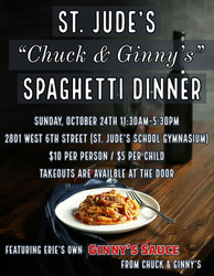 St. Jude's Chuck and Ginny's Spaghetti Dinner