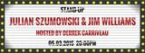 Stand-up Corner: Julian Szumowski & Jim Williams