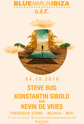 Steve Bug, Konstantin Sibold b2b Kevin de Vries at Bmi Uae