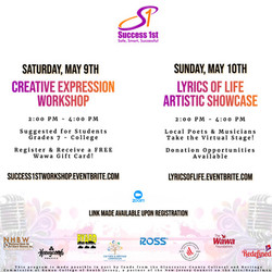 Success 1st Creative Expression Weekend