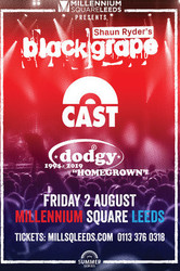 Summer Series 2019 presents Black Grape, Cast and Dodgy