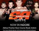 Super Action Wrestling fight - Now in Indore for the first time