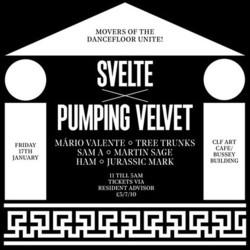 Svelte x Pumping Velvet with Mario Valente