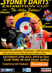 Sydney Darts Cup - The Ashes Edition!