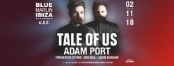 Tale Of Us & Adam Port at Blue Marlin Ibiza Uae - November 2018