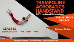 Taster Class - Trampoline Acrobatics Handstands