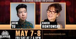 Irene Tu and Karen Rontowski - Live at the Alameda Comedy Club