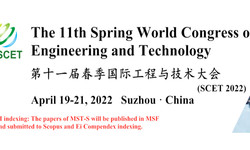 The 11th Spring World Congress on Engineering and Technology (scet 2022)