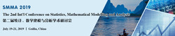 The 2nd Int'l Conference on Statistics, Mathematical Modelling and Analysis (smma 2019)
