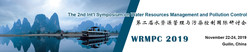 The 2nd Int'l Symposium on Water Resources Management and Pollution Control (wrmpc 2019)