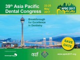 The 39th Asia Pacific Dental Congress (apdc 2017)