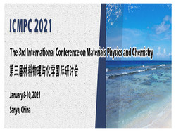 The 3rd International Conference on Materials Physics and Chemistry(ICMPC 2021)