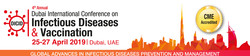 The 4th Dubai International Conference on Infectious Diseases and Vaccination Dicd 2019
