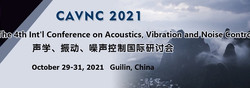 The 4th Int'l Conference on Acoustics, Vibration and Noise Control (cavnc 2021)