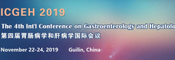 The 4th Int'l Conference on Gastroenterology and Hepatology (icgeh 2019)