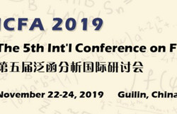 The 5th Int'l Conference on Functional Analysis (icfa-n 2019)