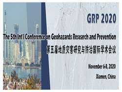 The 5th Int'l Conference on Geohazards Research and Prevention (grp 2020)