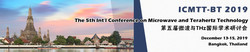 The 5th Int'l Conference on Microwave and Terahertz Technology (icmtt-bt 2019)