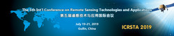 The 5th Int'l Conference on Remote Sensing Technologies and Applications (icrsta 2019)