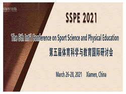The 5th Int'l Conference on Sport Science and Physical Education (sspe 2021)