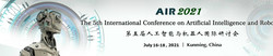 The 5th International Conference on Artificial Intelligence and Robots (air 2021)