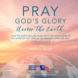 The 69th Annual National Day of Prayer, Thursday, May 7th, 2020 12pm