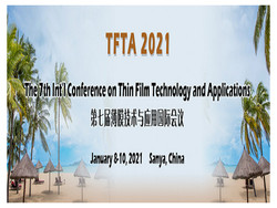 The 7th Int'l Conference on Thin Film Technology and Applications (tfta 2021)