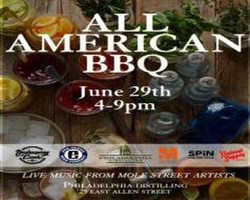 The All American Bbq at Philadelphia Distilling
