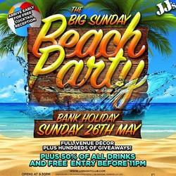 The Big Sunday Beach Party
