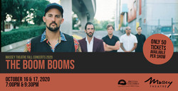 The Boom Booms at Massey Theatre