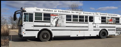 The Bus-eum, a traveling Midwest history museum on wheels