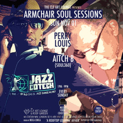 Armchair Soul Sessions with Perry Louis and Aitch B | Free Entry | Peckham, London