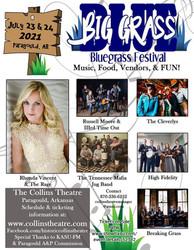 The Collins Big Grass Bluegrass Festival