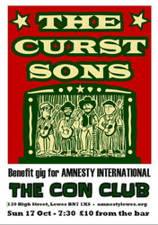 The Curst Sons - Benefit for Amnesty International
