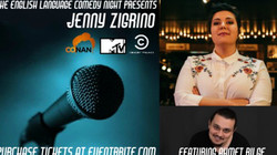The English Language Comedy Night Presents: Jenny Zigrino