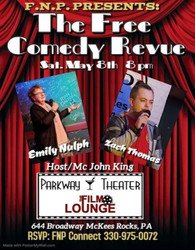 The Free Comedy Revue at the Parkway Theater and Film Lounge