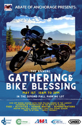 The Gathering at the Bike Blessing