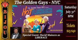 The Golden Gays - W/ Special Guest David Maiocco as Liberace