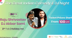 The Great Indian Comedy & Dj Night