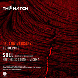 The Hatch First Anniversary 09.08.2019