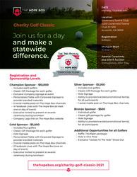 The Hope Box 3rd Annual Charity Golf Classic
