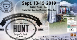 The Hunt 2019: Antiques, Artisans Show And Sale