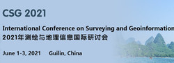 The International Conference on Surveying and Geoinformation (csg 2021)