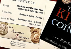 The Kite and the Coin Toss - book-signing