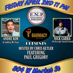 The Late Nite Comedy Show with Andre Kim and Nick Carra