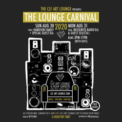 The Lounge Carnival w/ Incognito Radio - Carnival comes to Peckham, August Bank Holiday. Free Entry