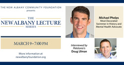The New Albany Lecture Series presents an evening with Michael Phelps