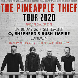 The Pineapple Thief at O2 Shepherds Bush Empire - London